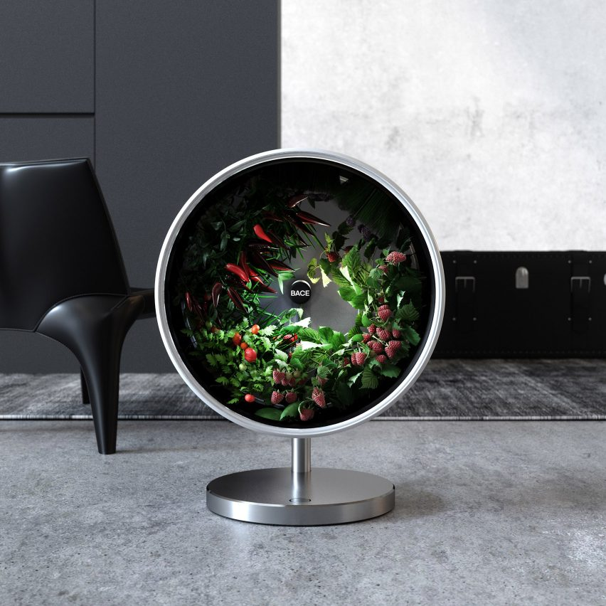 "Rotofarm by Bace proposes ""rotary hydroponics"" as sustainable source of fresh veg"