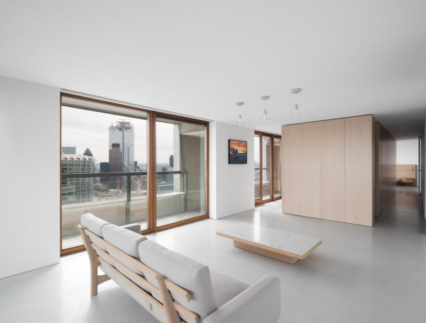 Barbican flat designed by John Pawson