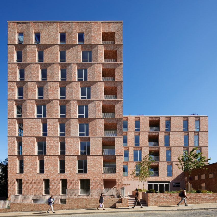 Morris + Company clads Hampstead retirement home in modulated brick