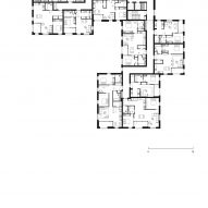 Typical floor plan of Bella Vue housing by Morris + Company for Pegasus Life