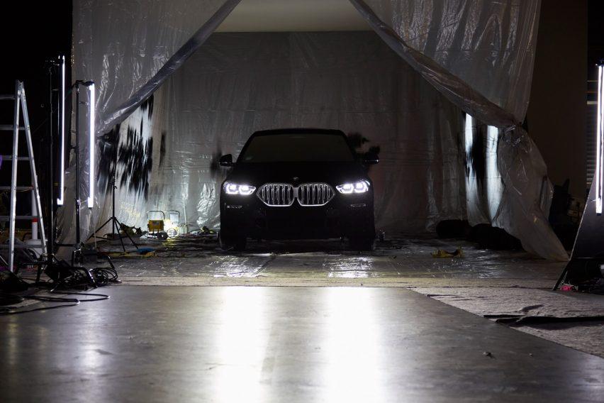 BMW VBX6 Vantablack