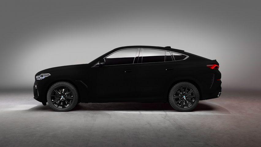 Bmw Unveils Blackest Black Bmw Vbx6 Car Sprayed With