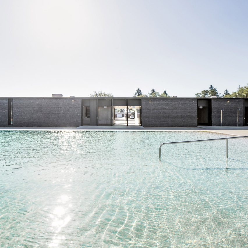 GH3 designs naturally filtered outdoor swimming pool for Canadian park