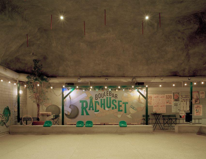 Boulebar pétanque restaurants by Bornstein Lyckefors