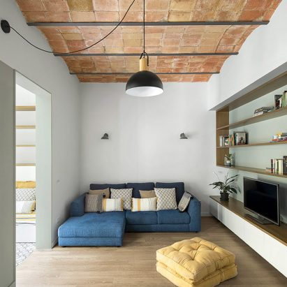 Caldrap Barcelona Apartment renovation by Nook Architects