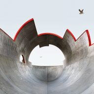 "California's ""elaborately designed"" concrete skateparks captured by Amir Zaki"