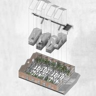 Carbon Capture Facility by Royal College of Art graduate Rhea Adaimi