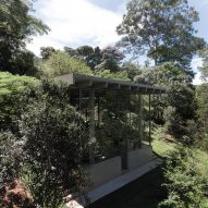 Casa Bibilioteca by Atelier Branco is a philosopher's retreat in the Atlantic Rainforest