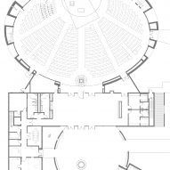 Chapel of Mines by Sparano + Mooney Floor Plan