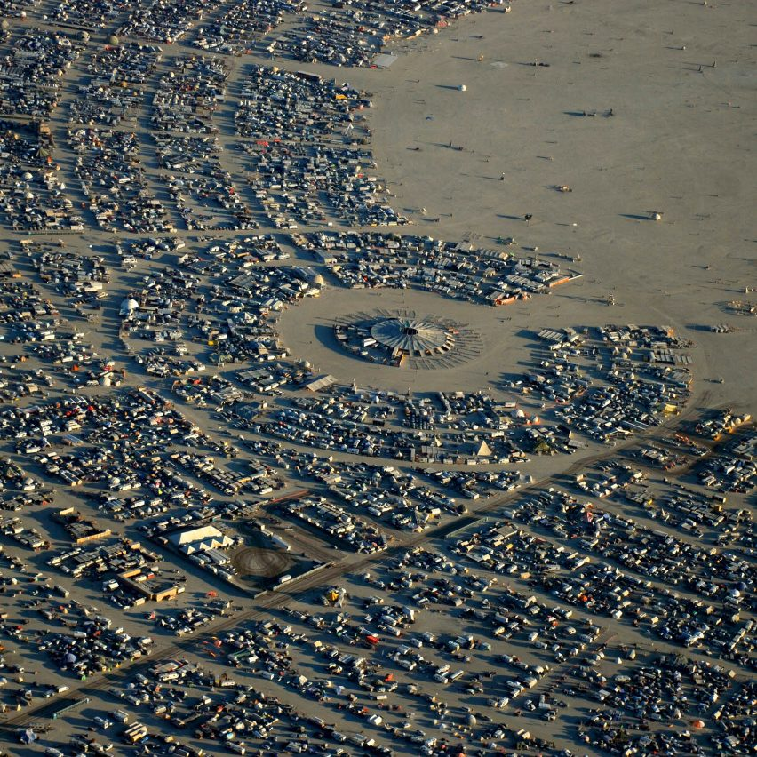 """Black Rock City is designed to """"sprout out of nothing"""", says Burning Man co-founder Will Roger"""