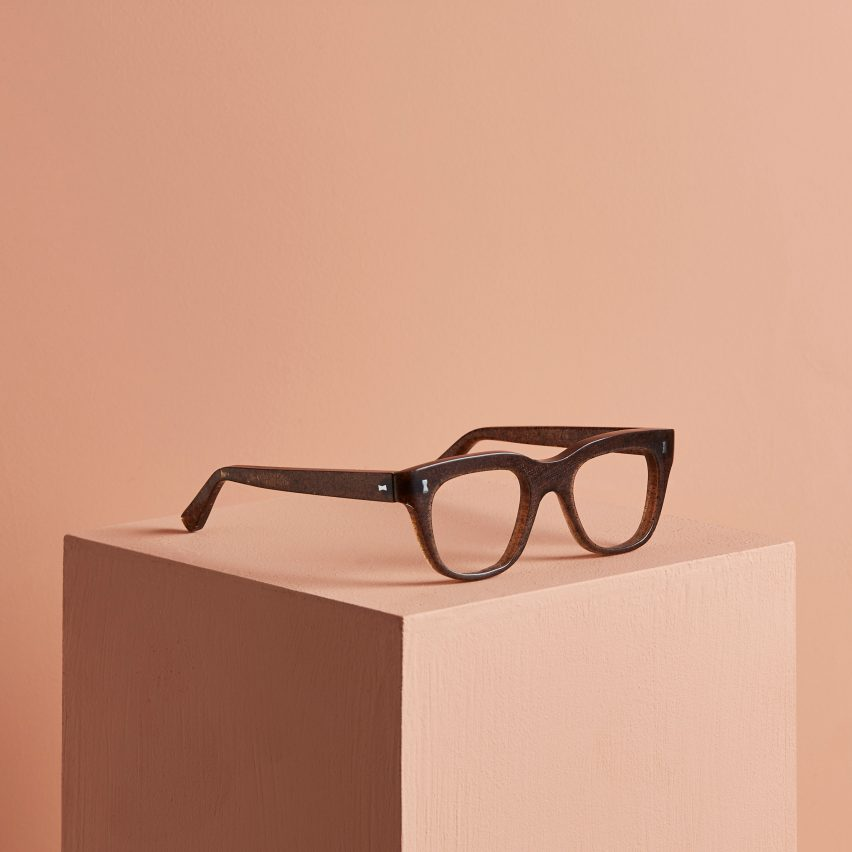 Cubitts makes Redux glasses from waste materials including human hair and potatoes