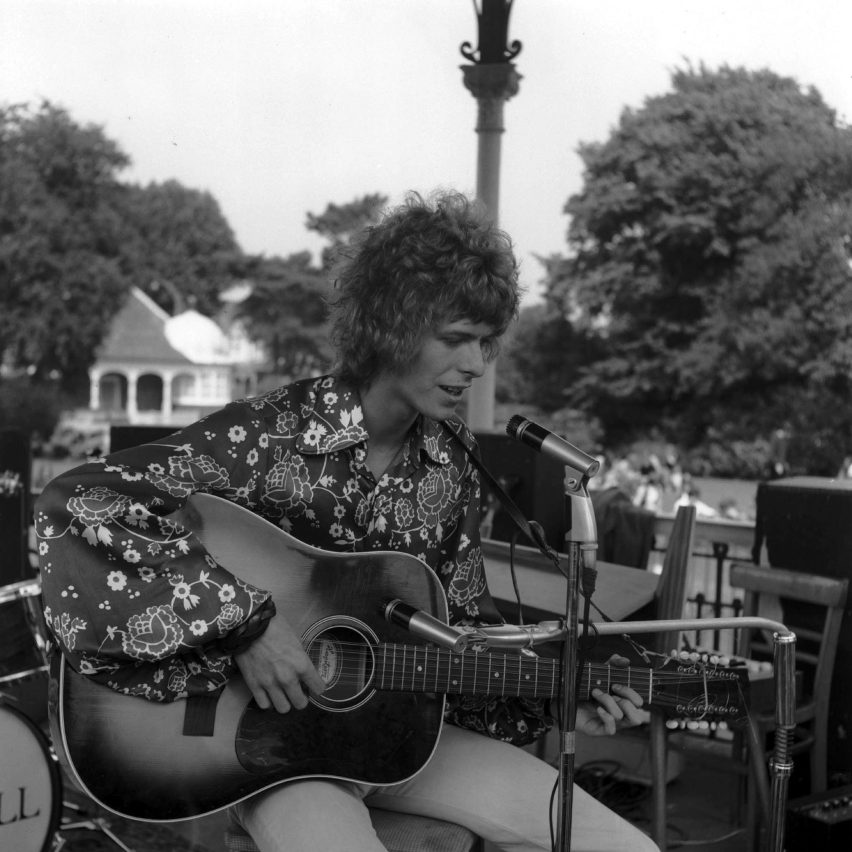 London bandstand where David Bowie played given listed status