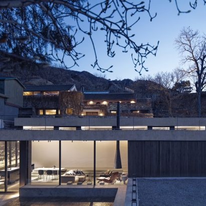 House on the Great Wall, Beijing, China, by MDDM Studio