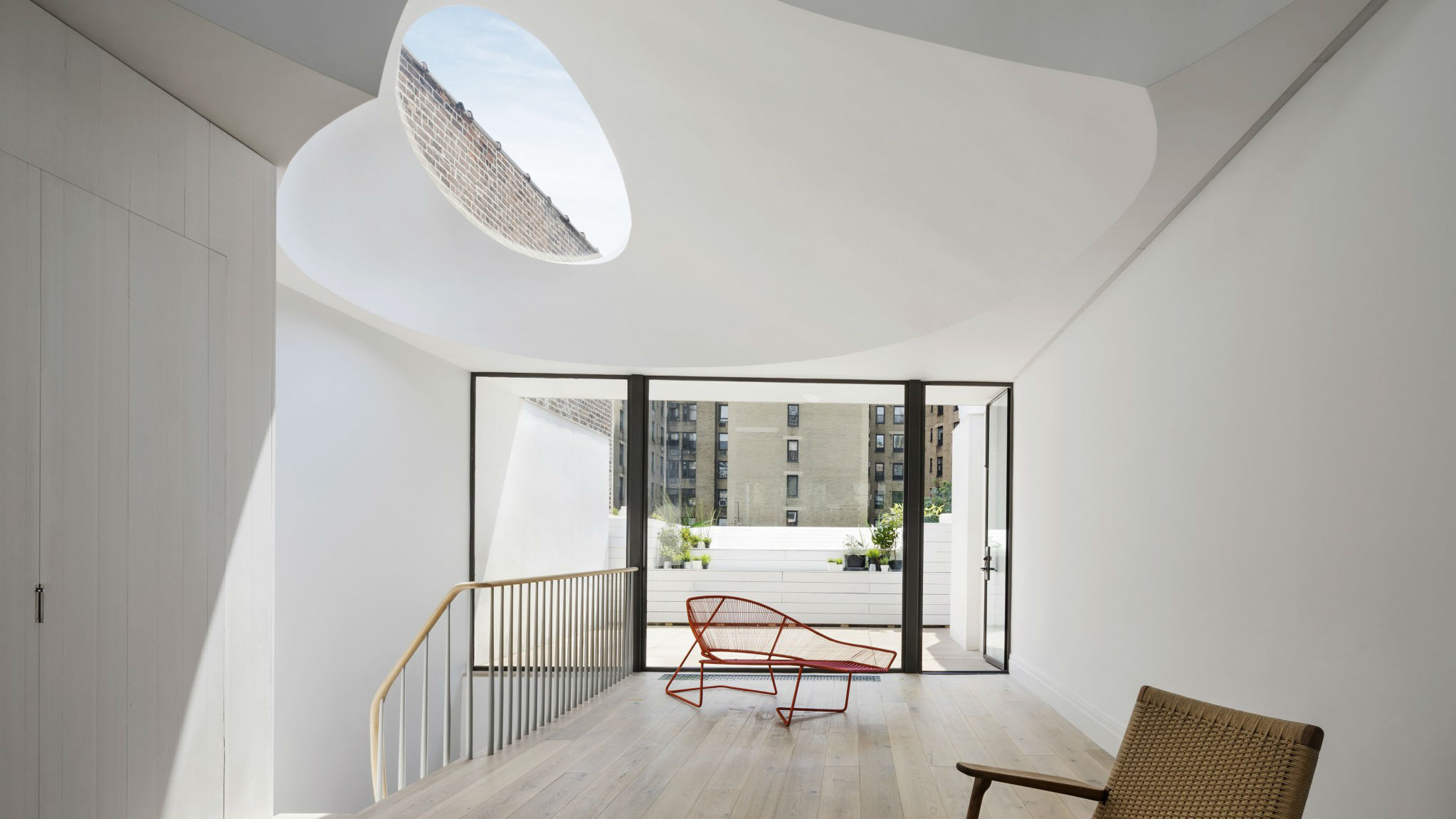Oculi House, USA, by O'Neill Rose Architects