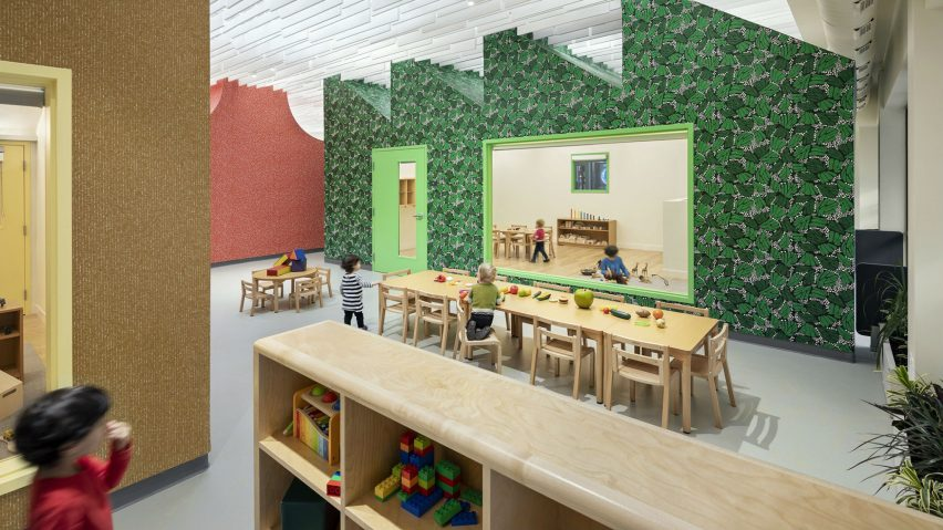 Redefining the Early Learning Environment, Chestnut Hill, US, by Supernormal