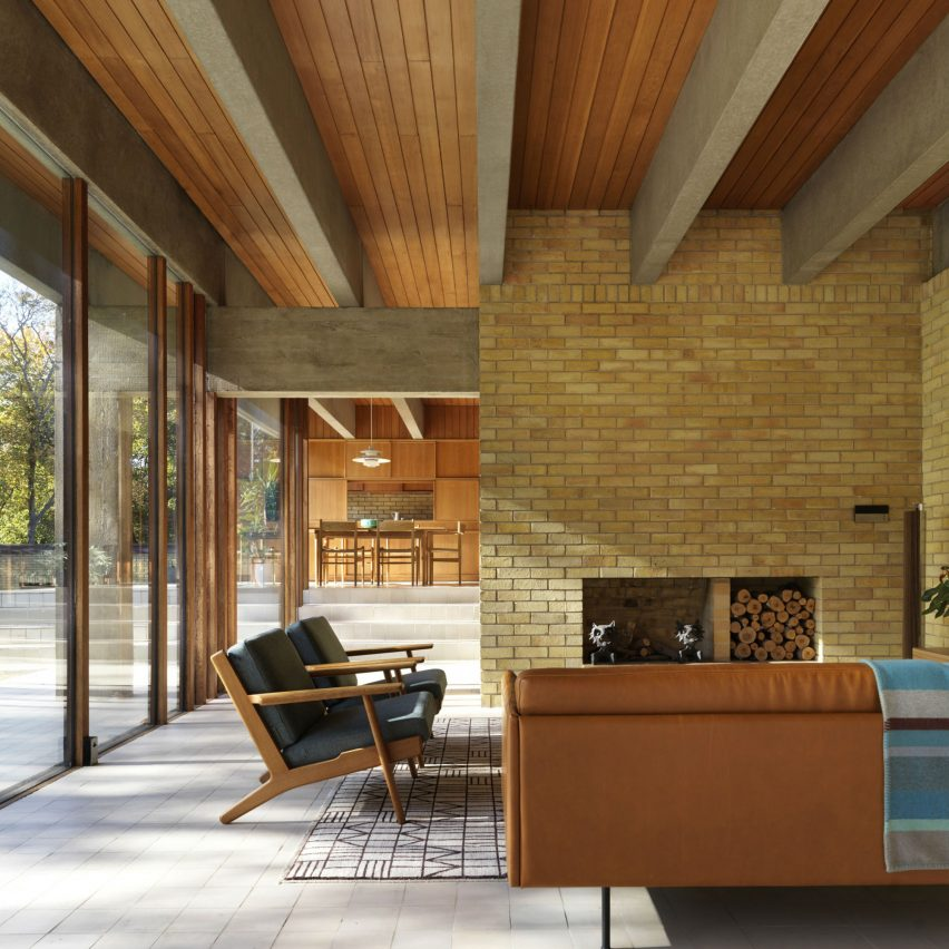 Dezeen Awards 2019 interiors shortlist: The Ahm House by Coppin Dockray