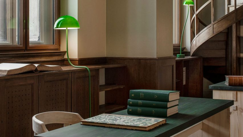 The Old Library at the National Museum, Stockholm, Sweden, by Emma Olbers Design