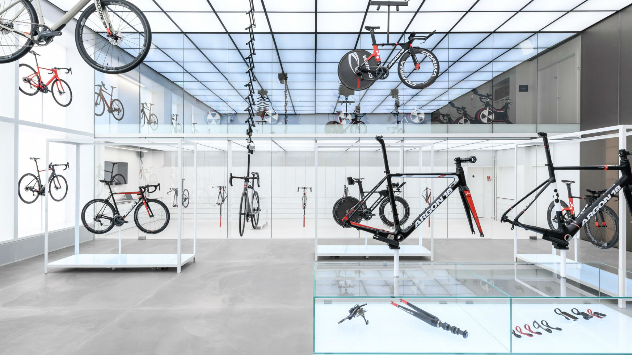 United Cycling LAB & Store, Lynge, Denmark, by Johannes Torpe Studios