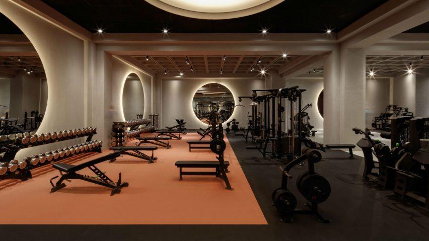 Warehouse Gym Springs, Dubai, UAE, by VSHD Design