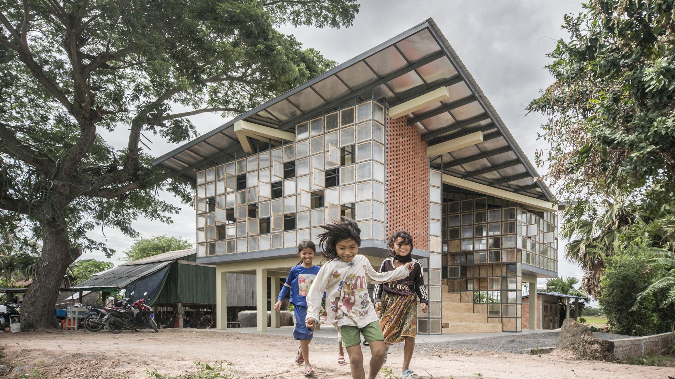 Adventurous Global School, Battambang, Cambodia, byOrient Occident Atelier
