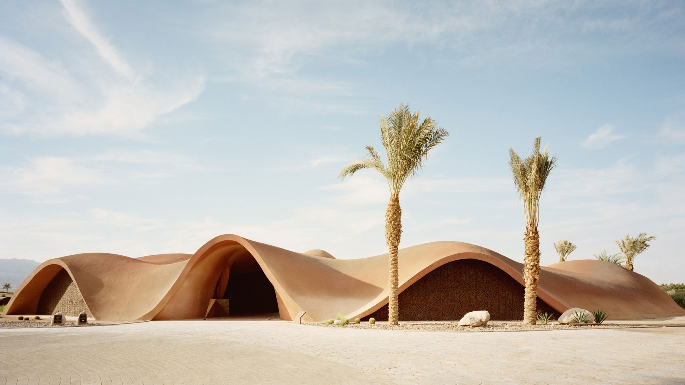 Ayla Golf Academy and Clubhouse, Jordan, byOppenheim Architecture