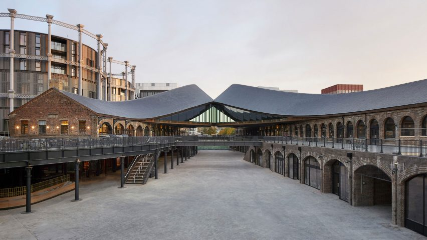 Coal Drops Yard, London, UK, by Heatherwick Studio