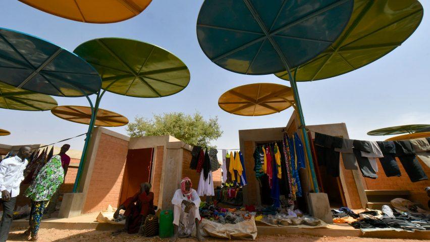 Regional Market, Dandaji, Niger, byAtelier Masomi