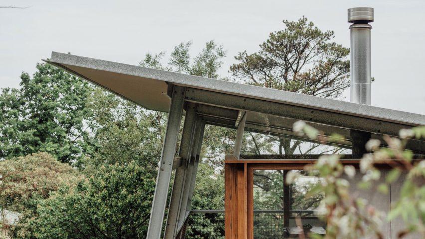 Exoskeleton House, Wollongong, Australia, byTakt Studio