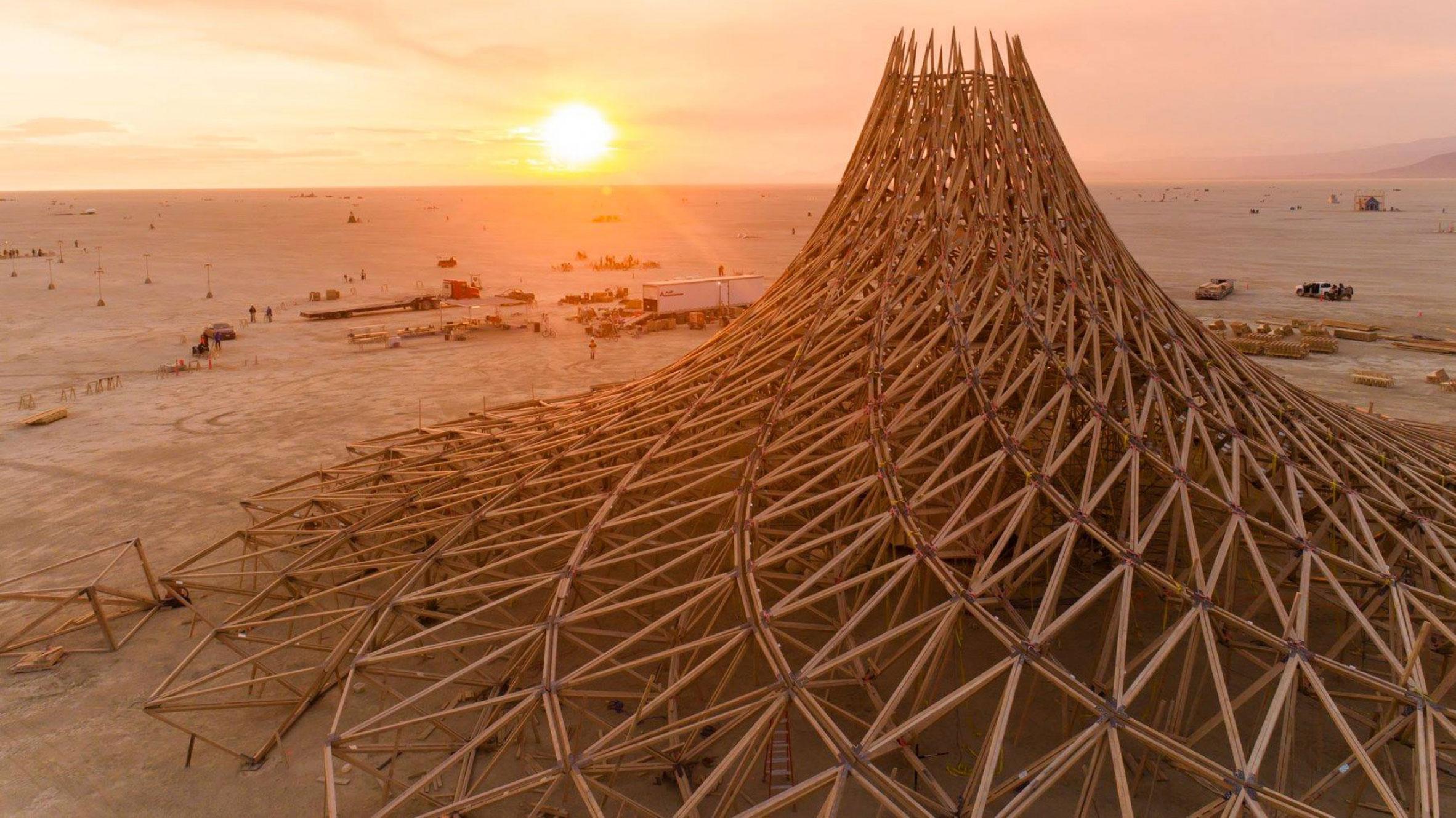 Galaxia, Black Rock Desert, US, byMamou-Mani Architects