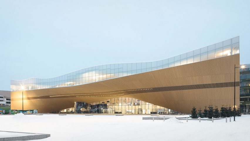 Helsinki Central Library Oodi, Helsinki, Finland, by ALA Architects
