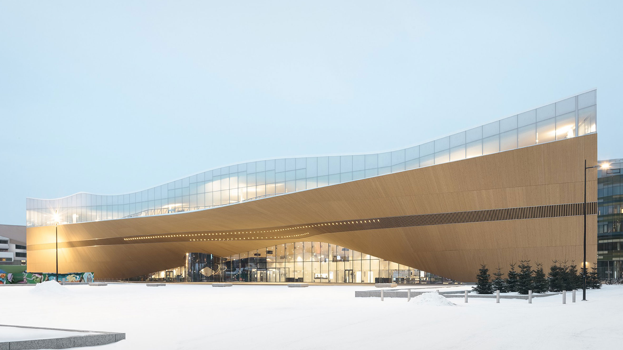 Helsinki Central Library Oodi, Helsinki, Finland, byALA Architects
