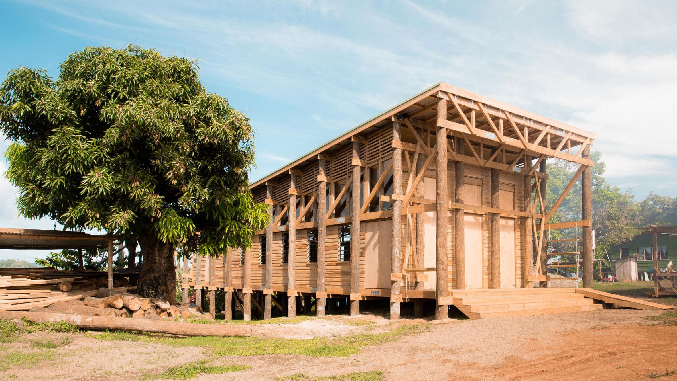 Naidi Community Hall, Naidi, Fiji, by CAUKIN Studio