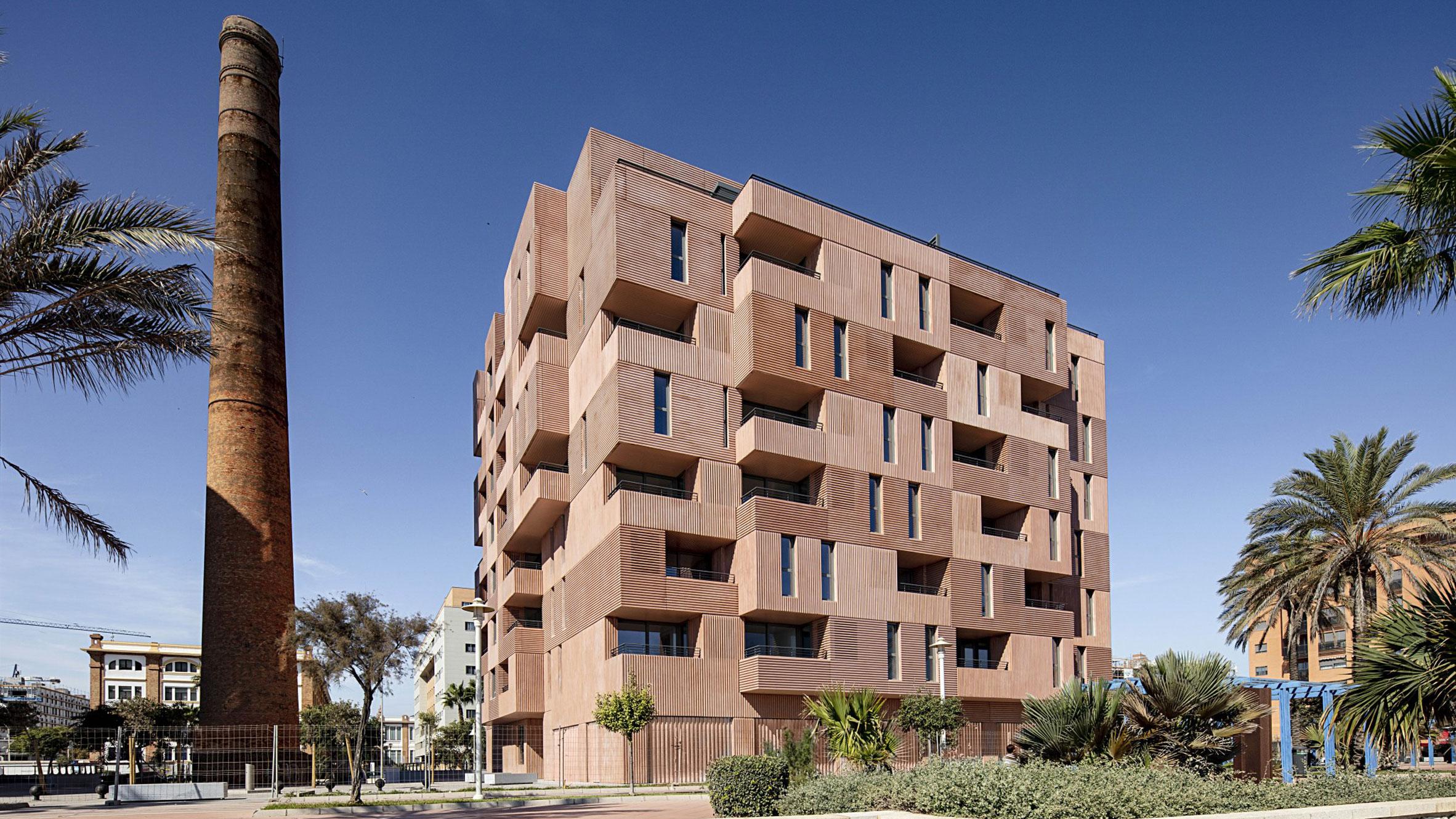 The New Brick Tectonic, Malaga, Spain, byMuñoz Miranda Architects