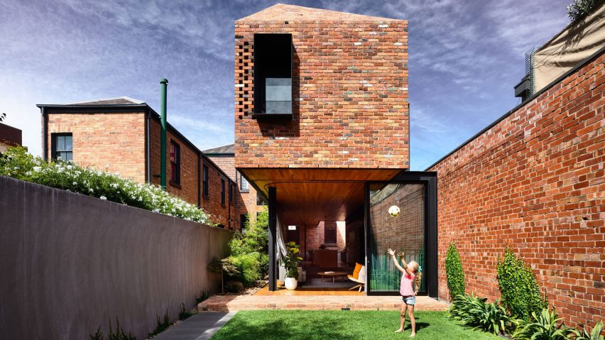 North Melbourne Terrace, Melbourne, Australia, by Matt Gibson Architecture + Design