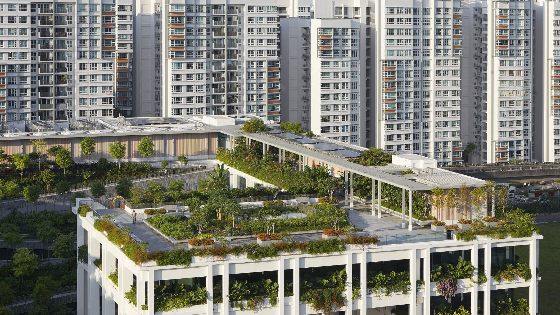 Oasis Terraces, Punggol, Singapore, by Serie Architects