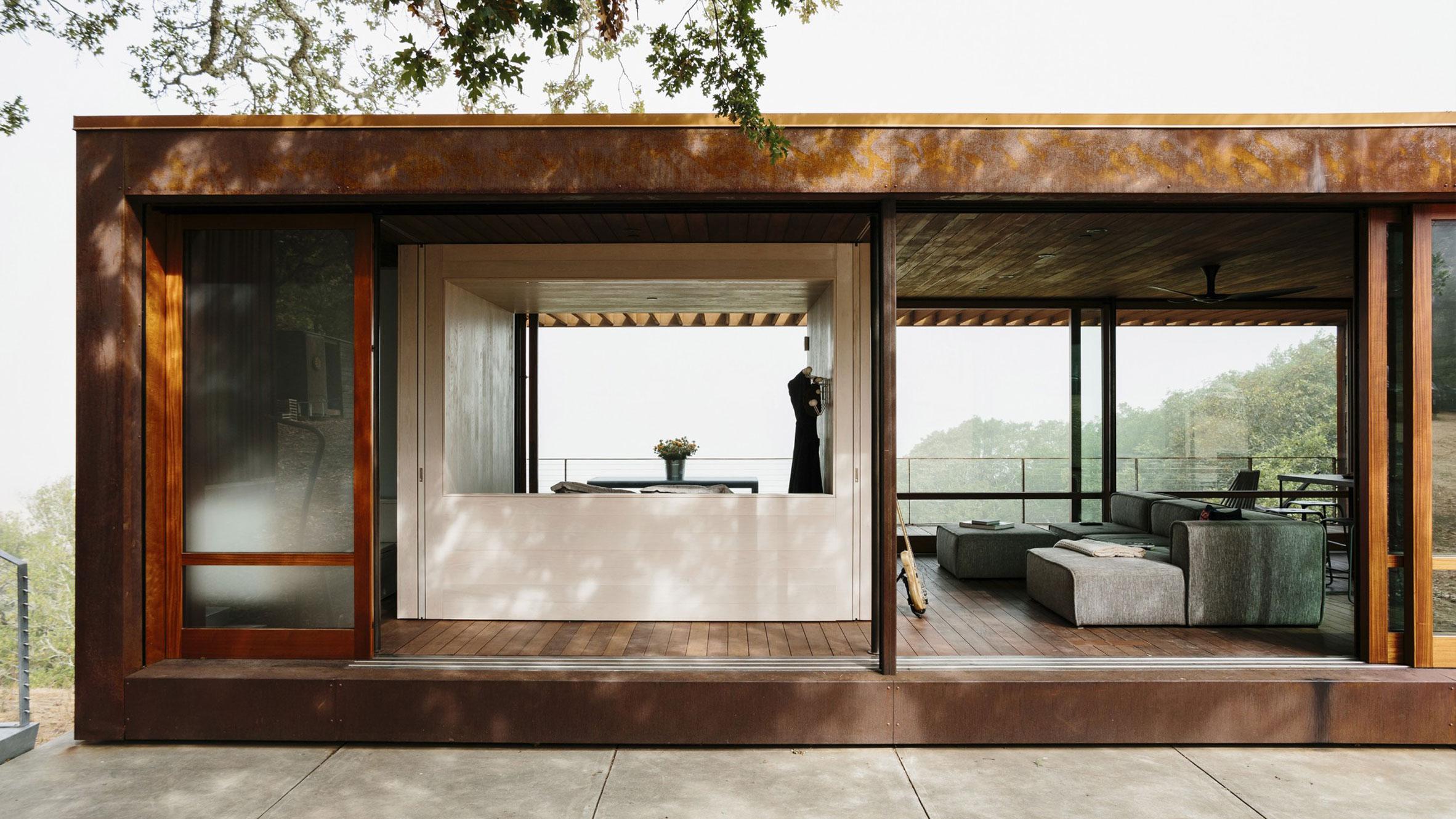 Sonoma weeHouse, Santa Rosa, US, byAlchemy Architects