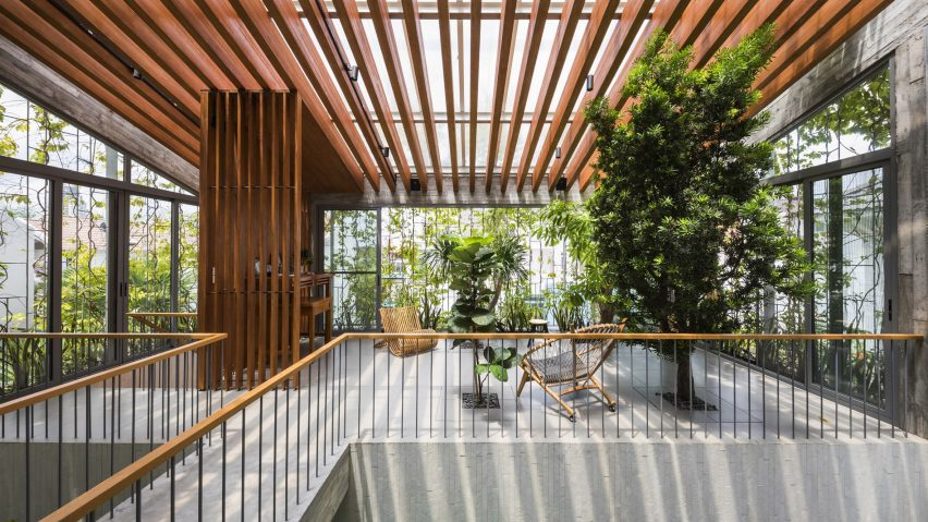 Stepping Park House, Ho Chi Minh City, Vietnam, byVo Trong Nghia Architects