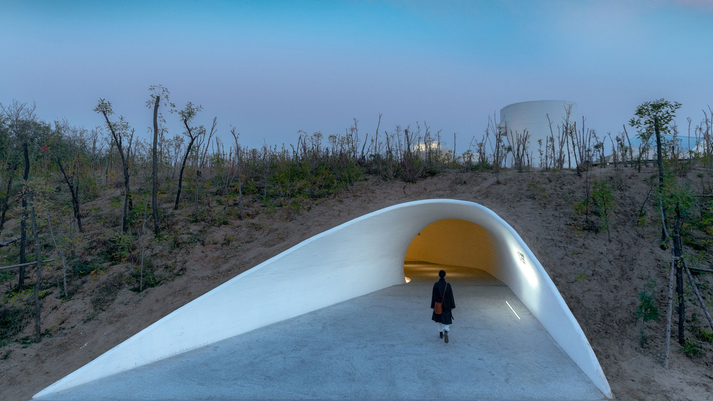 UCCA Dune Art Museum, Qinhuangdao, China, by Open Architecture