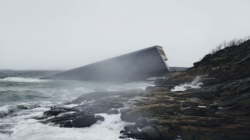 Under – Europe's First Underwater Restaurant, Lindesnes, Norway, by Snøhetta