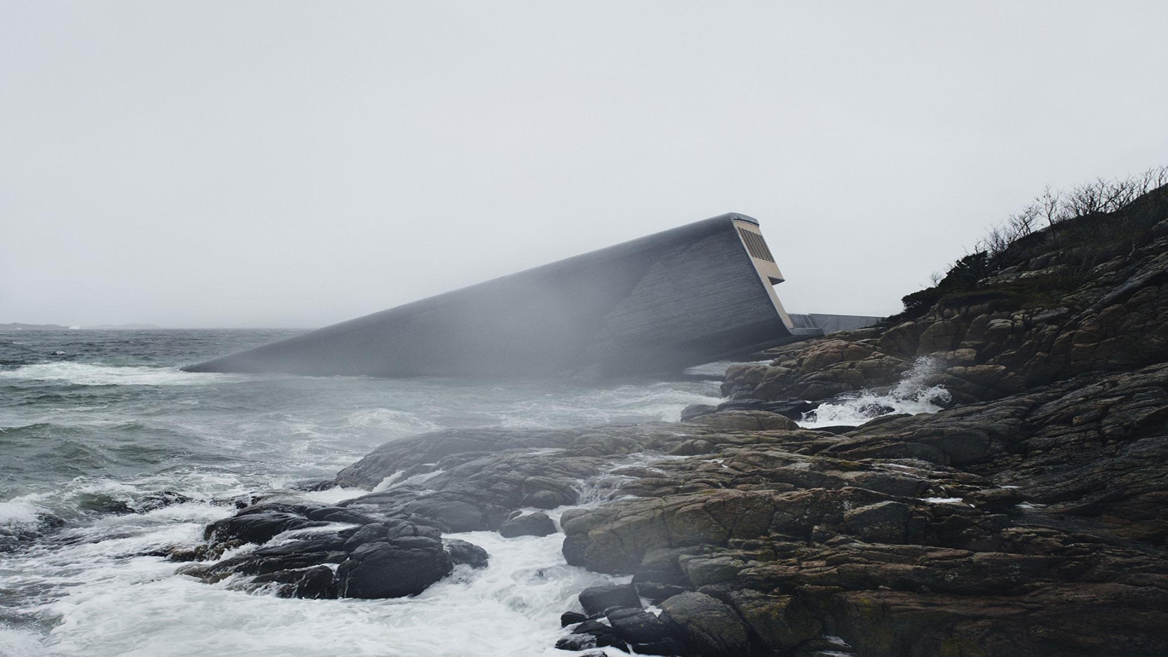 Under – Europe's First Underwater Restaurant, Lindesnes, Norway, by Snøhetta