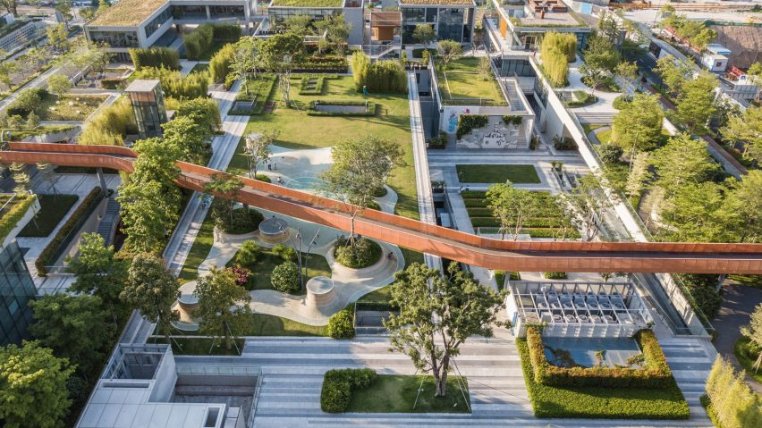 Vanke Design Community plot A4+B2, Shenzhen, China, byfcha