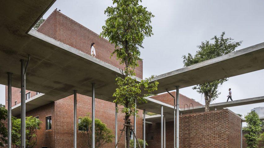 Viettel Academy, Hanoi, Vietnam, byVo Trong Nghia Architects