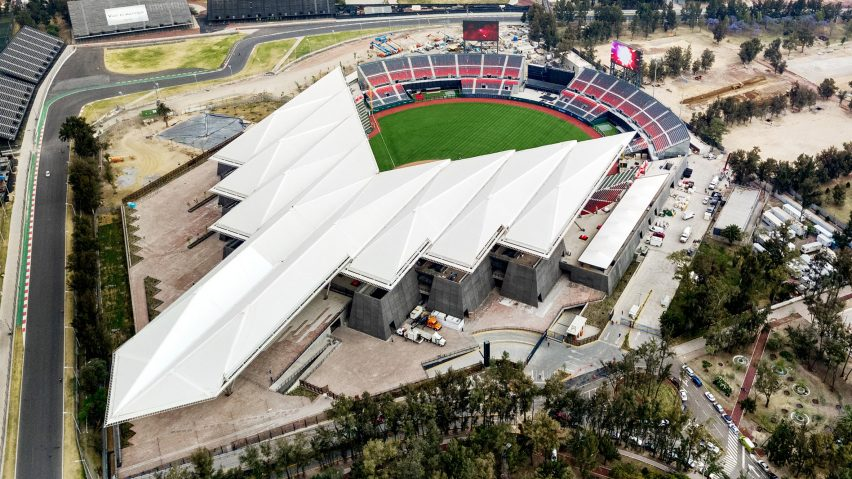 Diablos Stadium by Francisco Gonzalez Puildo of FGP Atelier
