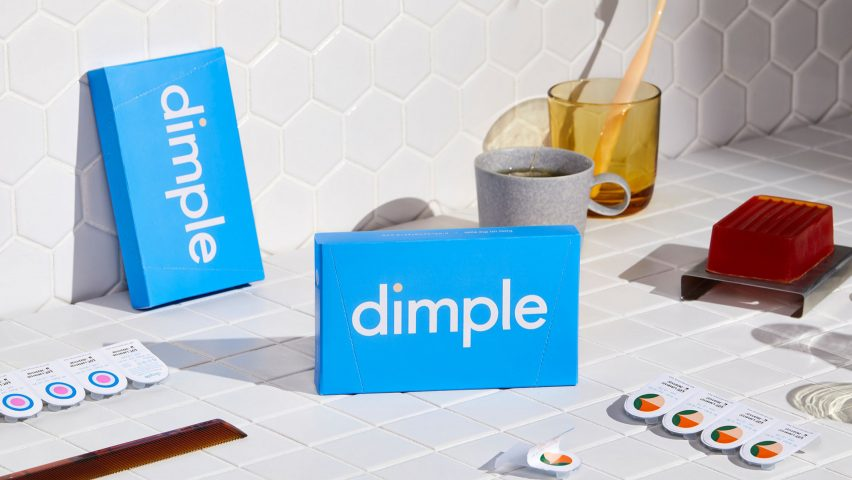 Dimple branding and packaging by Universal Favourite