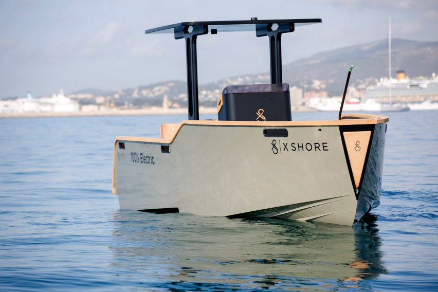 Eelex 6500 electric boat by X Shore