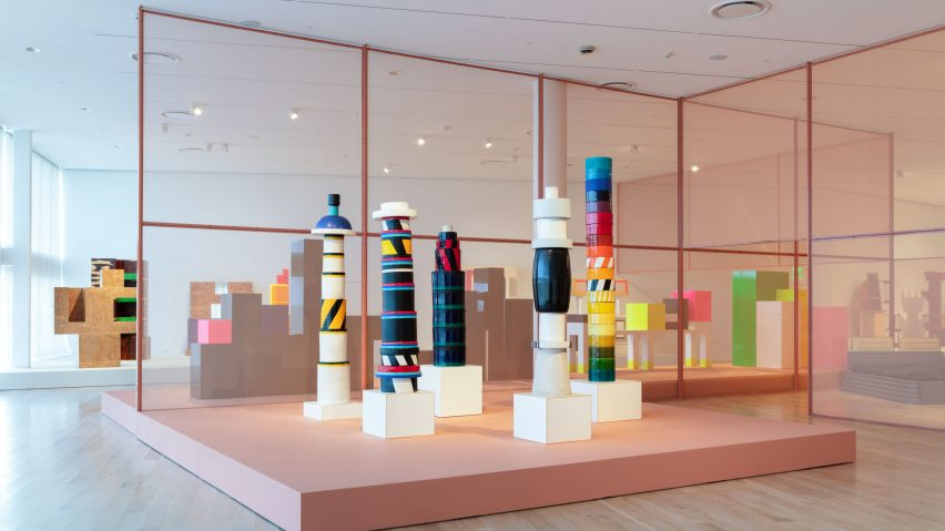 Frida Escobedo designs Ettore Sottsass exhibition at ICA Miami
