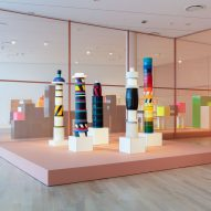 Frida Escobedo designs Ettore Sottsass exhibition at ICA Miami