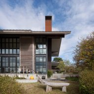 Olson Kundig creates wooden home on Washington archipelago for art collector