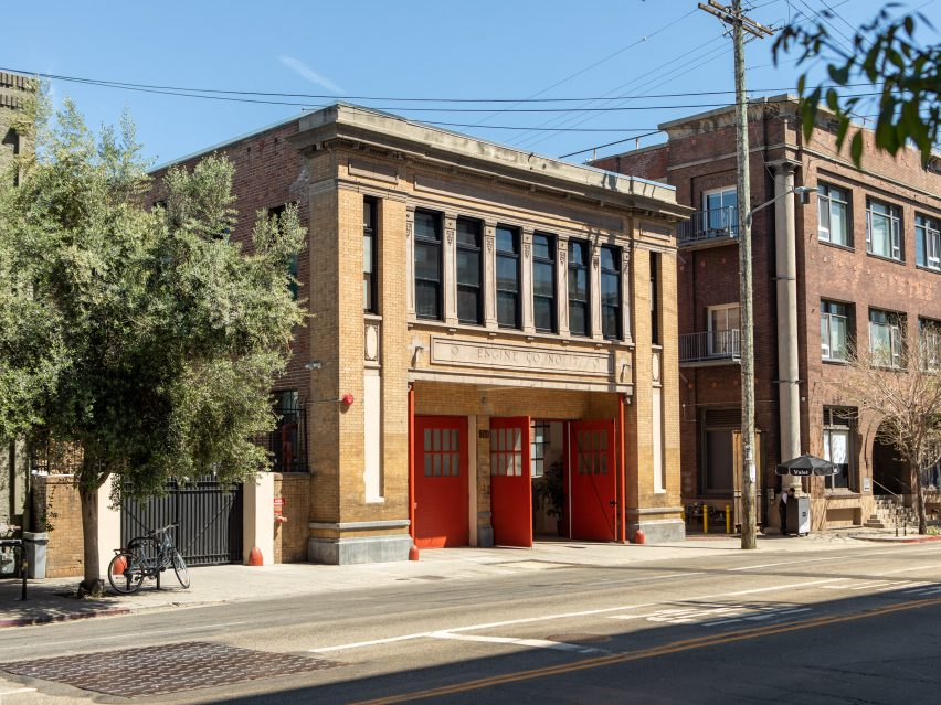 Firehouse hotel by Sally Breer