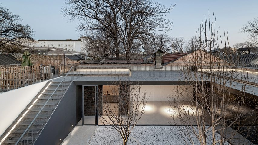 Folding Courtyard by Arch Studio